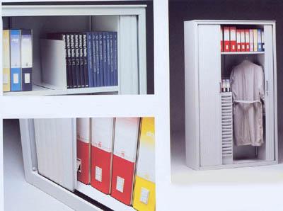 Mobili da ufficio metallici per archivio - Serrandine per mobili ...